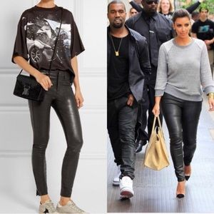 Leather pants | J brand
